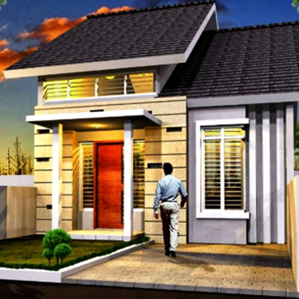 Desain Rumah Minimalis Type 36 1 Lantai Tampak Depan ...