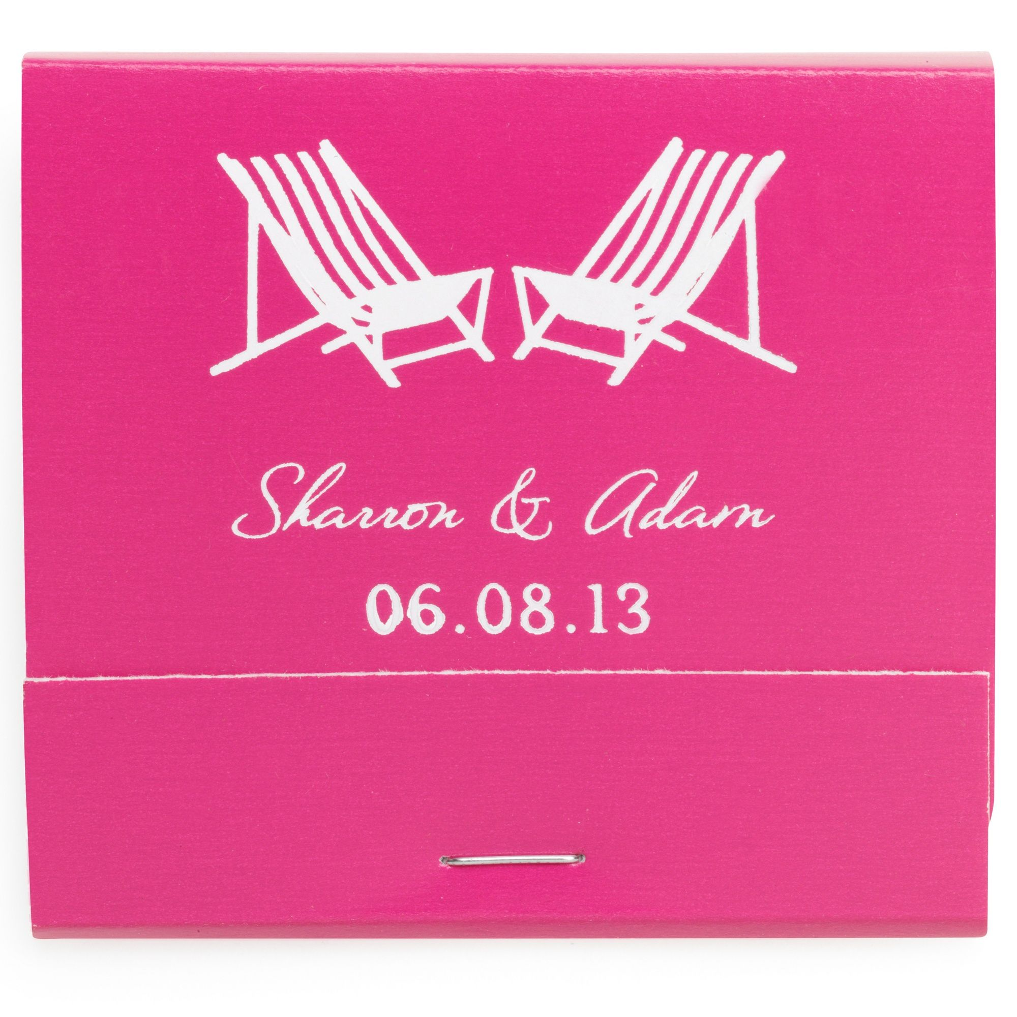 Personalized Matchbooks, Box of 50 | Favors, Wedding and Exclusively ...