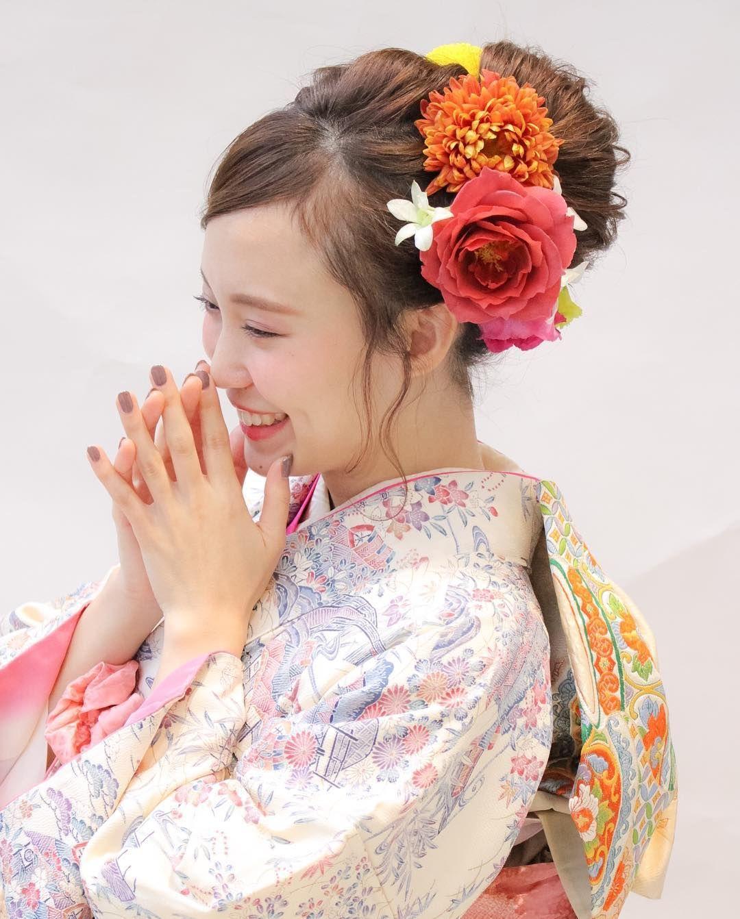 成人式 ヘアアレンジ おしゃれまとめの人気アイデア Pinterest 東雲