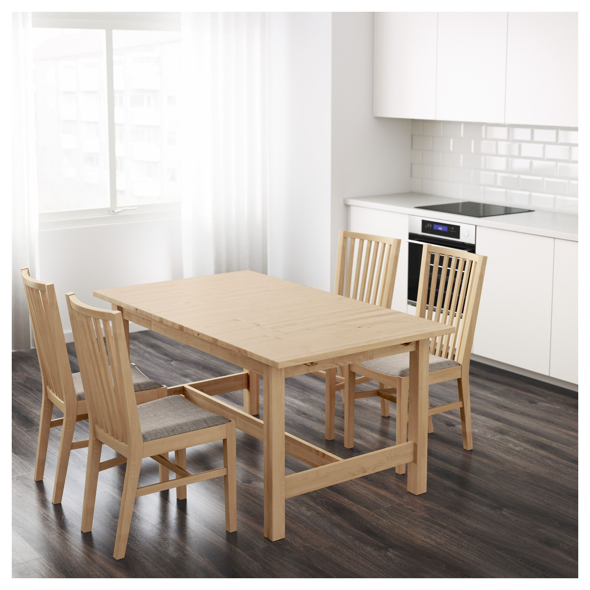 IKEA NORDEN extendable table 1 extension leaf