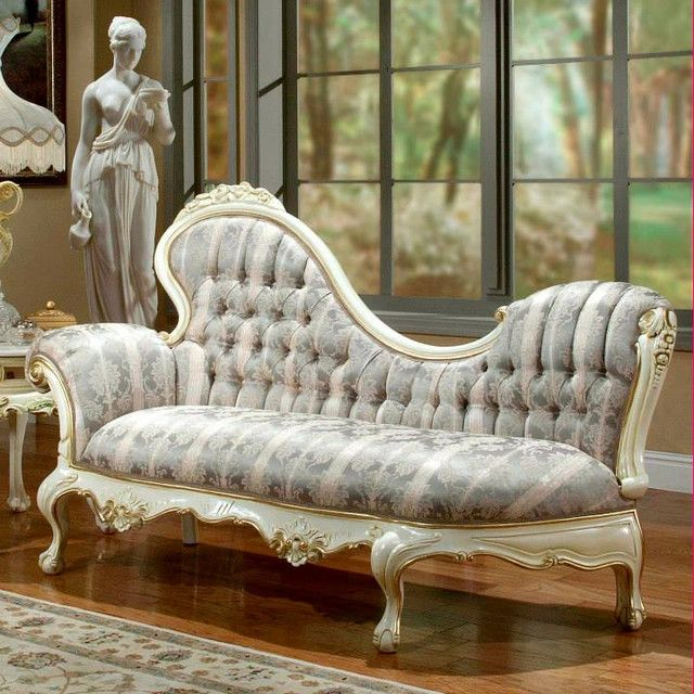 Victorian indoor chaise lounge | VICTORIAN & VINTAGE APPEAL ...