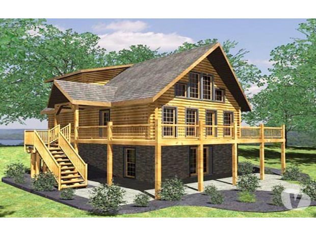 Photos Vivastreet BELLE MAISON EN RONDIN DE BOIS RT2012 (RODANIA LOG - construire une maison ecologique
