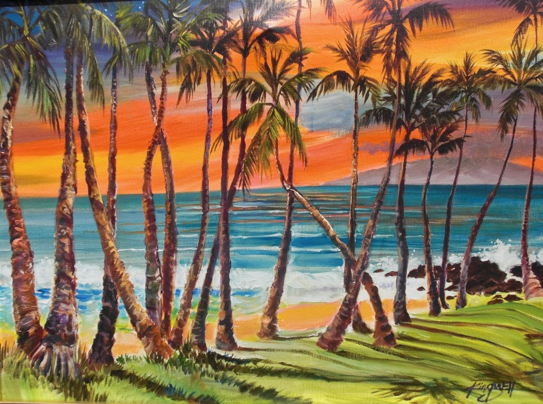 Connecticut watercolor artists directory - Jim Kingwell Artist Jim Kingwell Maui Artist Directory Http Www