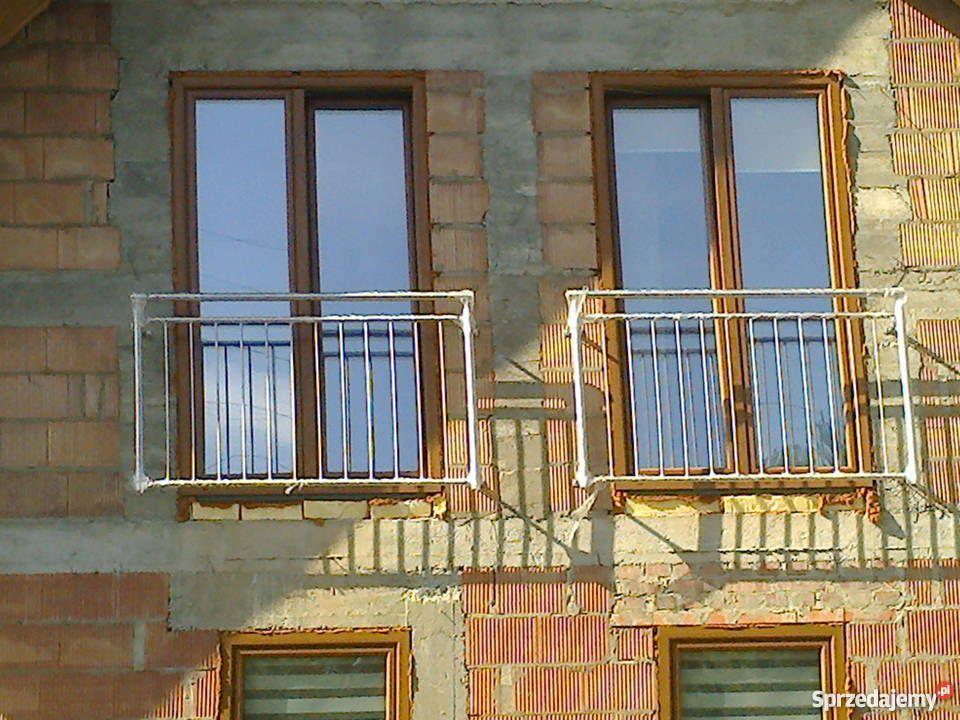 Barierka Balustrada Balkon Francuski Portfenetr Metalowe Drzwi I Okna Wielkopolskie Poznan