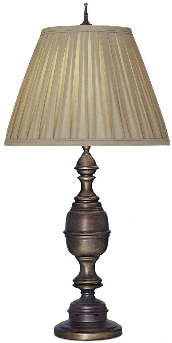 31 Inchh 1 Light 3 Way Table Lamp Antique Old Bronze Table Lamp