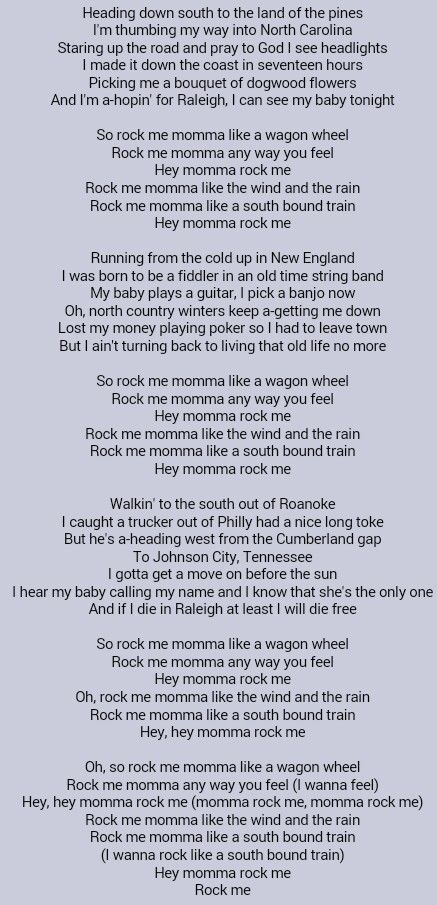 Darius Rucker . Wagon Wheel | Music screams the words we are too ...