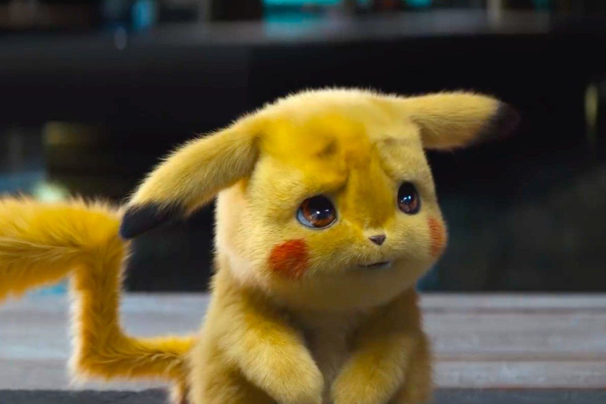 Pokemon Detective Pikachu Trailer Reaction Pokemon Movies Cute