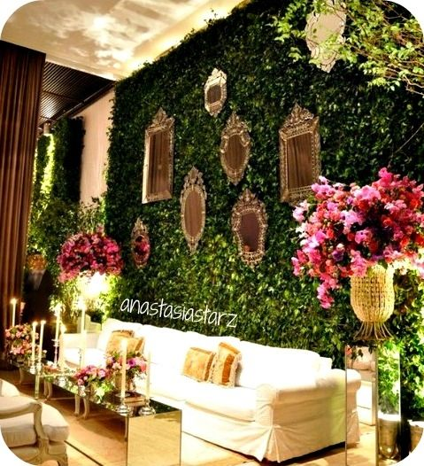 Grass Walls In 2019 Wedding Lounge Wedding Decorations