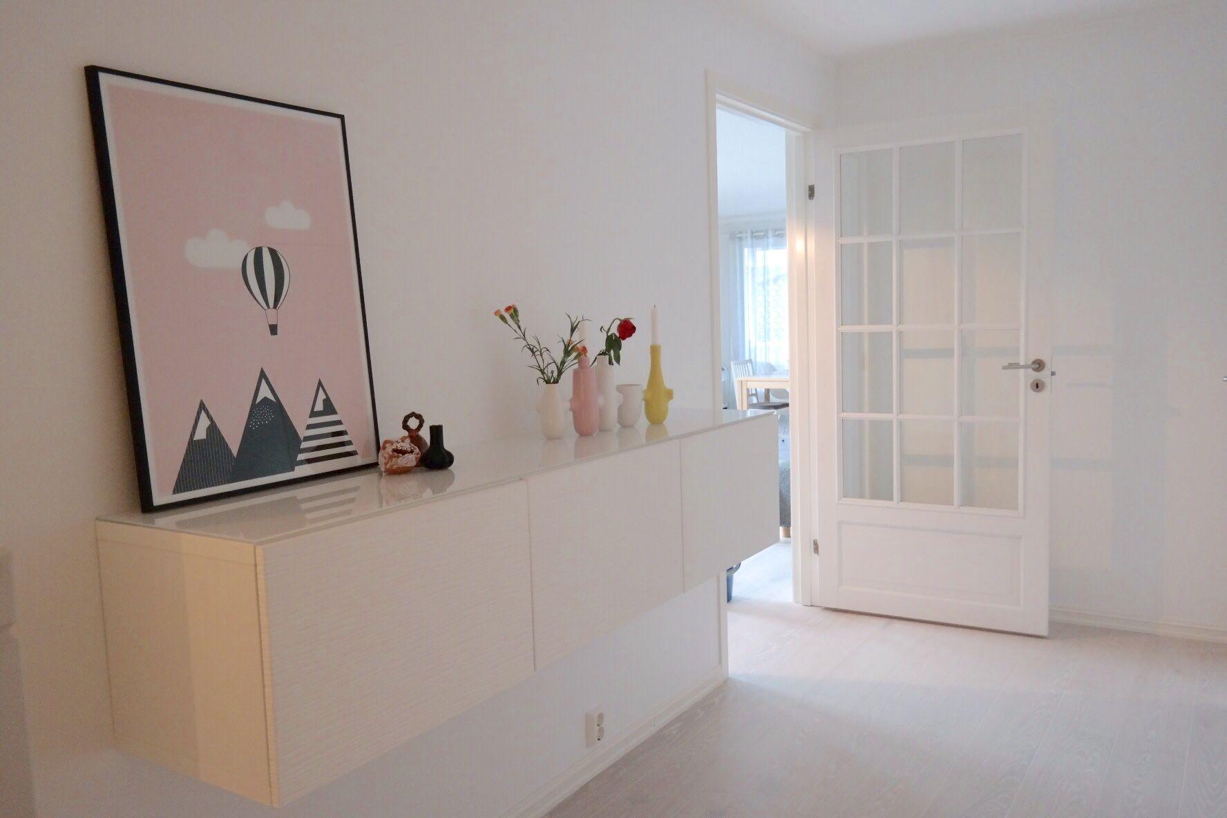 In my hall | entry | ikea | kahler