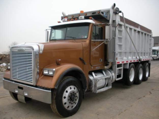 Freightliner Fld Dump Freightliner Trucks Freight Truck