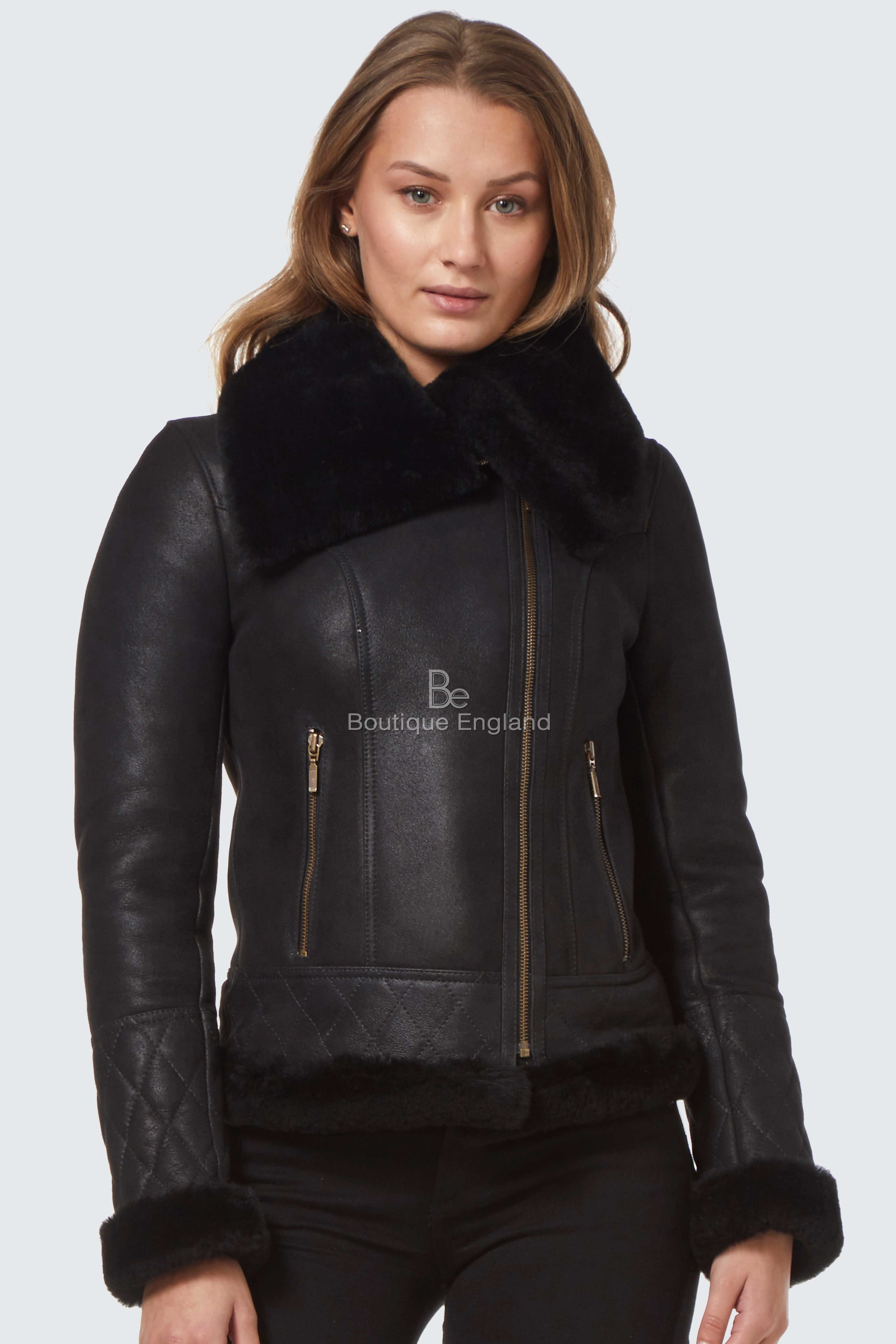 Pin by Boutique England on Ladies Leather Jackets