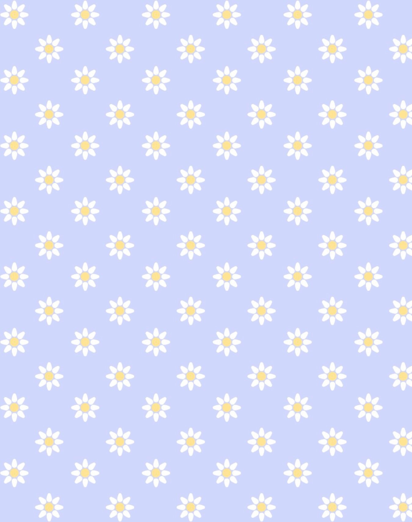 Cute Daisy Background Got It From Pic Collage Cute Wallpapers Daisy Background Paper Background