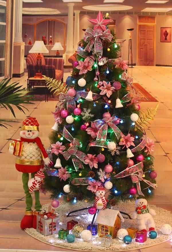Beautiful christmas trees Top Christmas Decorations 2017