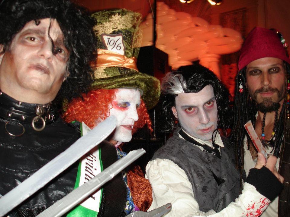 10 31 11 Hawthorne Hotel Halloween Ball Salem Ma 4 Johnny S