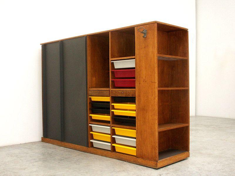 Charlotte Perriand U0026 Le Corbusier / Wardrobe, 1956 59