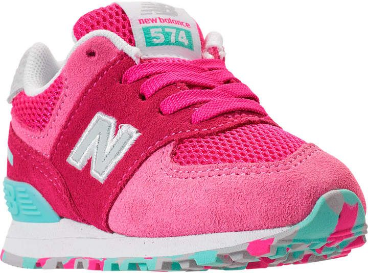 the latest 769d1 c883d New Balance Girls' Toddler 574 Core Casual Shoes | Products ...