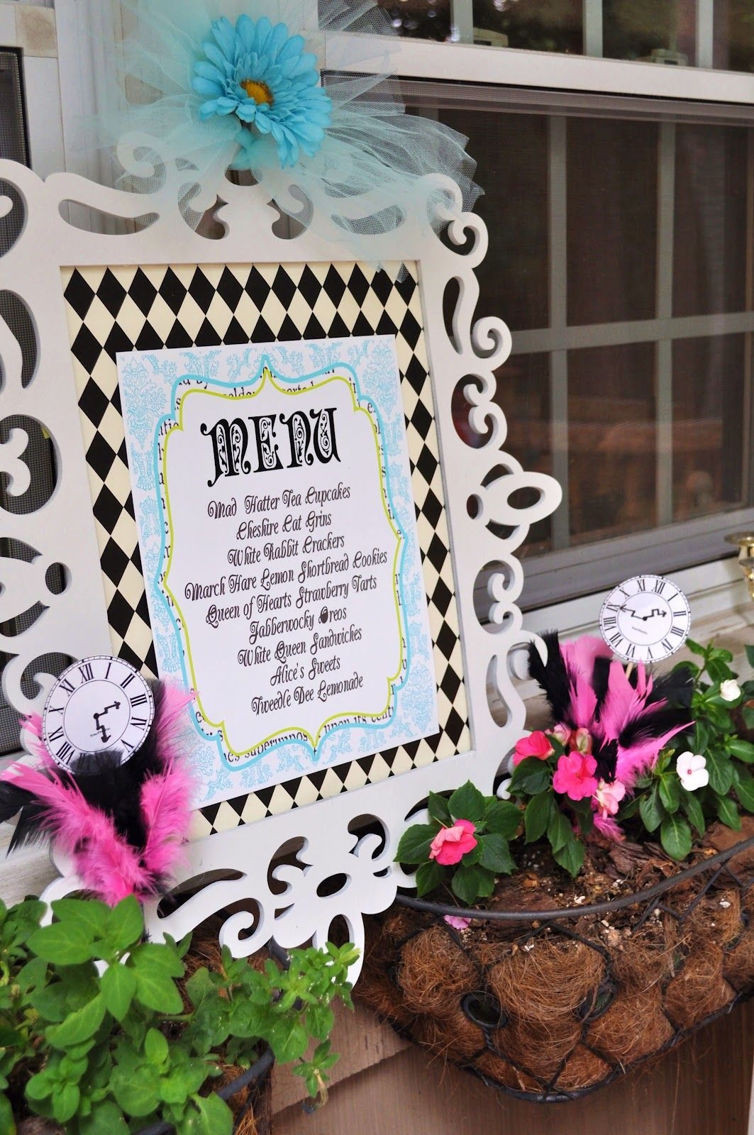 bridal shower teparty decorations%0A Photo   of Alice in Wonderland Mad Tea Party   Birthday   Julia u    s Unbirthday