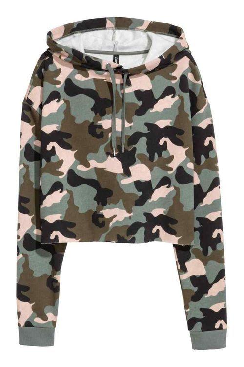 H M Mierz Wysoko Mlodziezowe Sportowe Militarne Akcnety Na Wiosne 2017 Clothes Sweatshirts Fashion