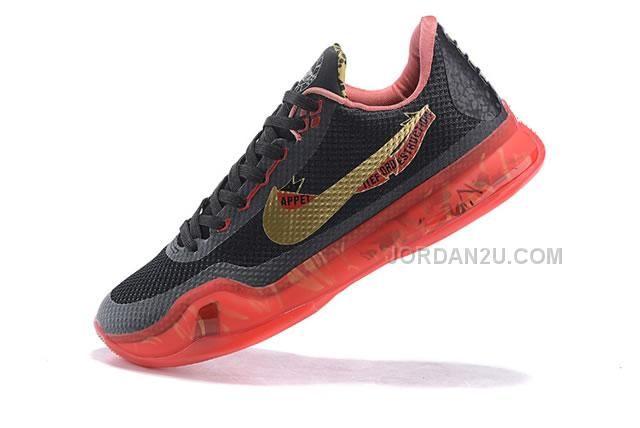 Kobe 10 Low The King Be Back Shoes Black Golden Red, Price: - Air Jordan  Shoes, New Jordan Shoes, Michael Jordan Shoes