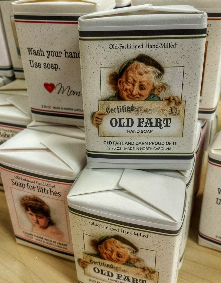 home made old fart soap at write image in cary n c greater rh pinterest com