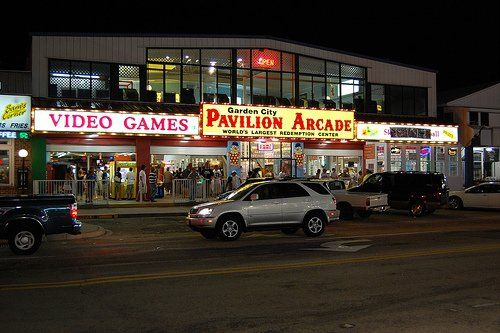 Looking For Great Things To Do In Myrtle Beach On Your Vacation? Check Out Garden  City Pavilion Arcade In Murrells Inlet!