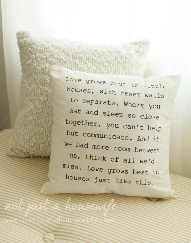 This perfectly describes how I feel about houses and our house I