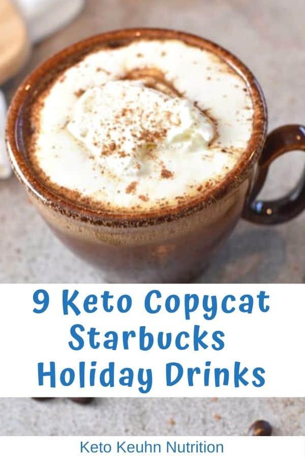 Keto Starbucks Holiday Drinks and Treats