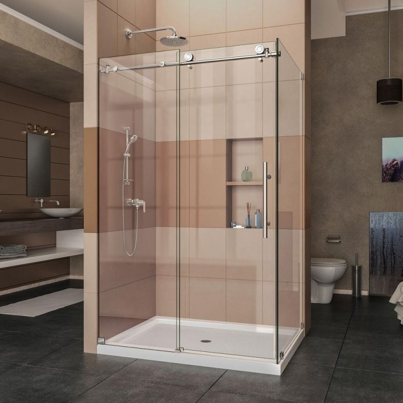 3x4 Shower Stall Walk In Showers Today Have Been A Trend And A Great Deal Of Folks H Frameless Shower Enclosures Shower Doors Frameless Sliding Shower Doors