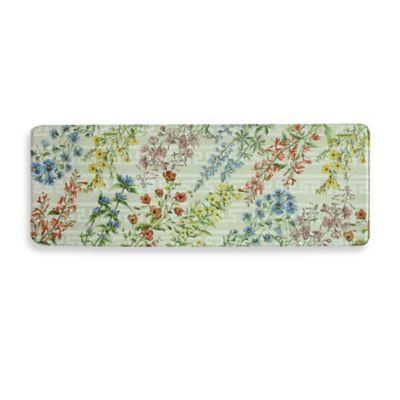 Buy Bacova Summer Flowers 20 Inch X 55 Inch Memory Foam Kitchen