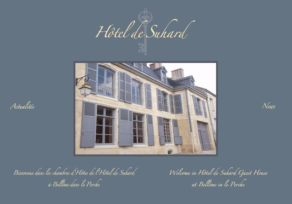 Hôtel de Suhard  Chambres du0027hotes Perche Belleme, Orne (61)   Bed - chambres d hotes france site officiel