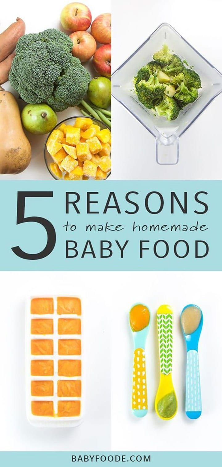 Ultimate Guide on How to Make Homemade Baby Food # ...