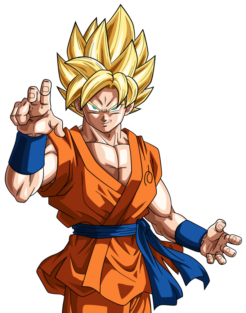 Super Saiyan Goku Dragonball Super 2 By Rayzorblade189 Deviantart Com On Deviantart Gambar Anime Gambar