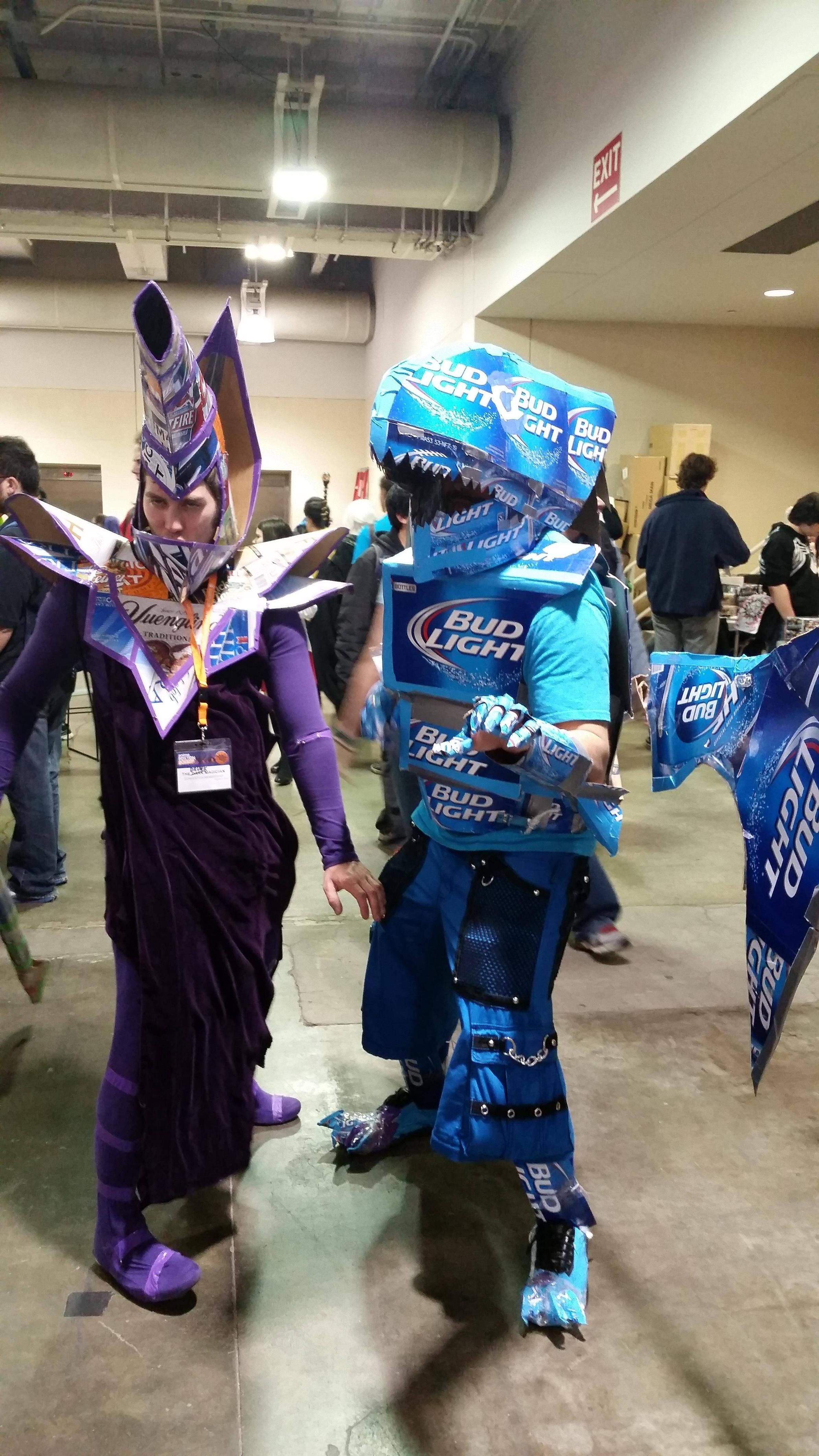 Saw these two at last yearu0027s Anime Boston. Dark Magician and Blue Eyes White Dragon & Saw these two at last yearu0027s Anime Boston. Dark Magician and Blue ...