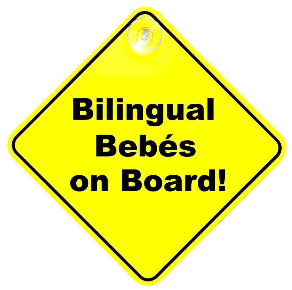 Bilingual bebes on board
