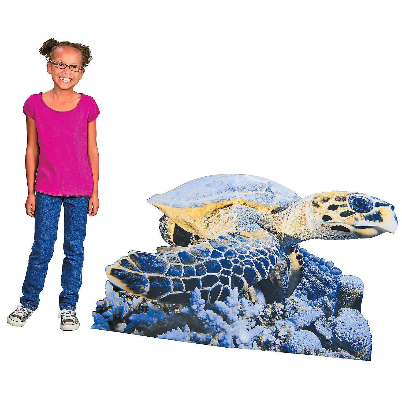 Sea Turtle Stand-Up - OrientalTrading.com
