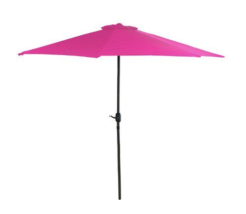 need a hot pink patio umbrella it s too blue and green out there rh pinterest com