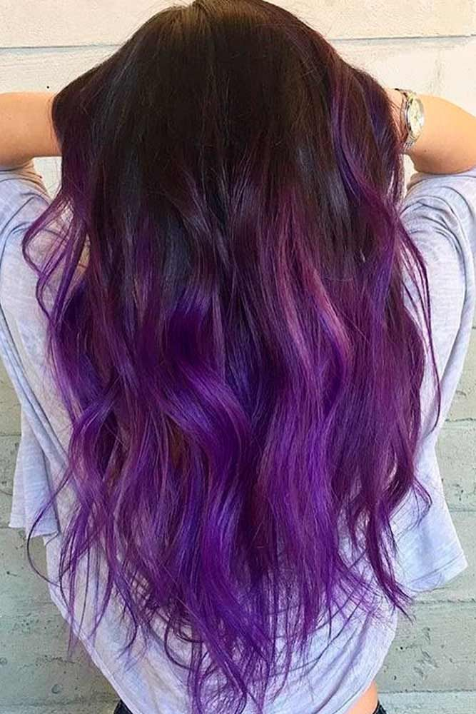 18 Totally Awesome Hair Color Ideas For Two Tone Hair Awesome Hair