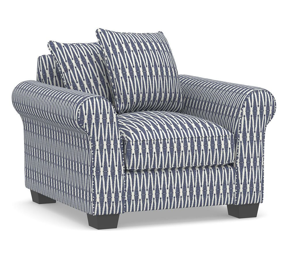 Enjoyable Pb Comfort Roll Arm Upholstered Armchair Products In 2019 Dailytribune Chair Design For Home Dailytribuneorg