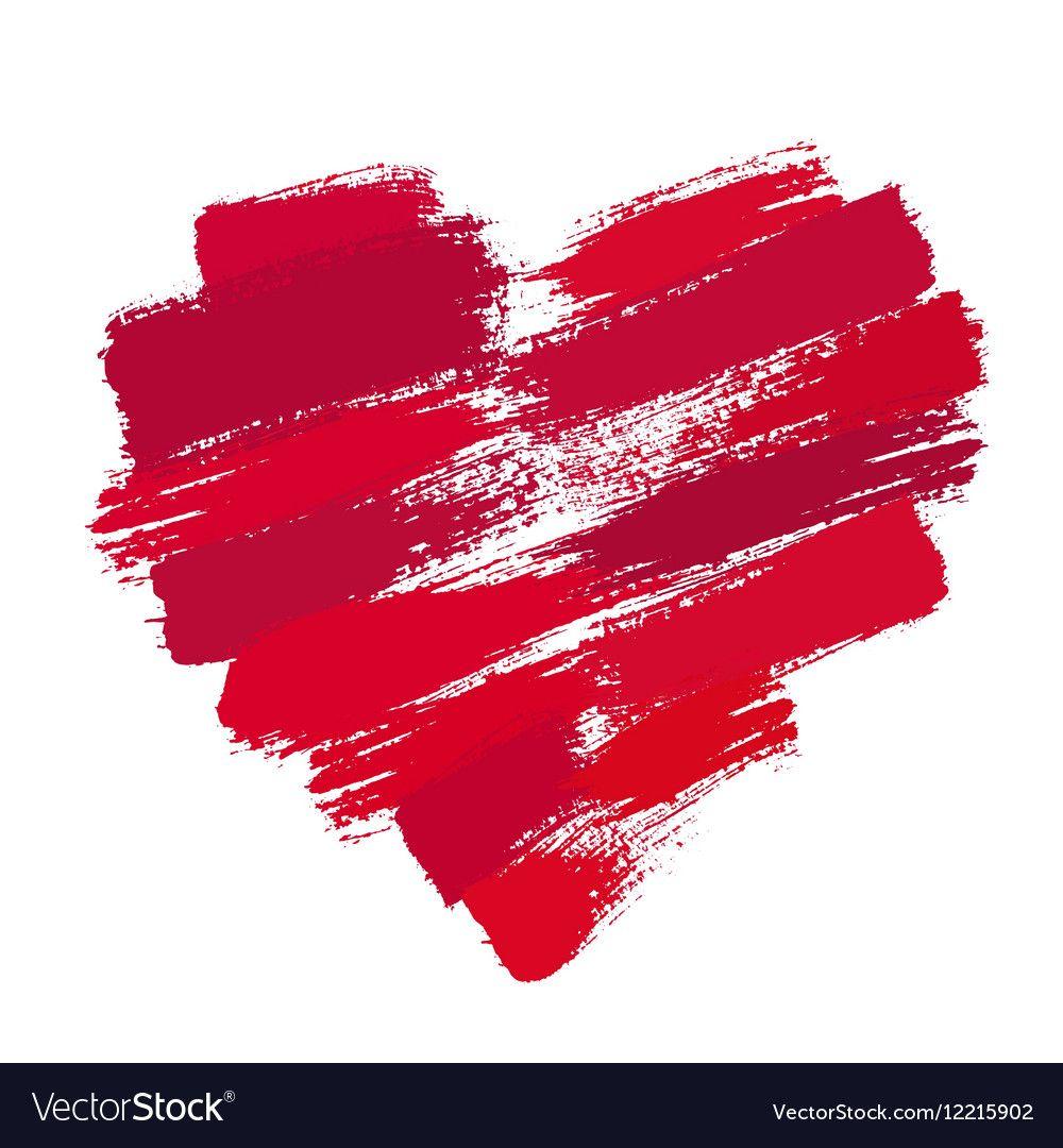 45++ Brush stroke heart clipart information