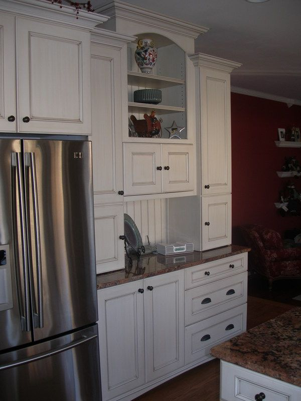 Microwave Placement Idea With Pocket Doors Closed Home Kitchen