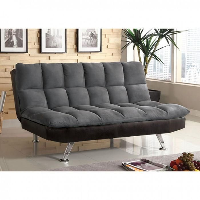 furniture of america tigray sofa futon in 2019 futons futon sofa rh pinterest com