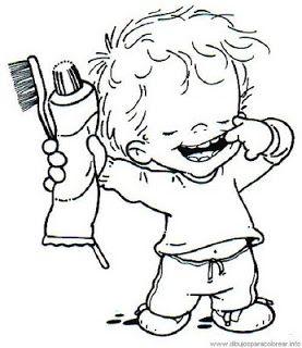riscos e desenhos desenhos para colorir higiene dantukai