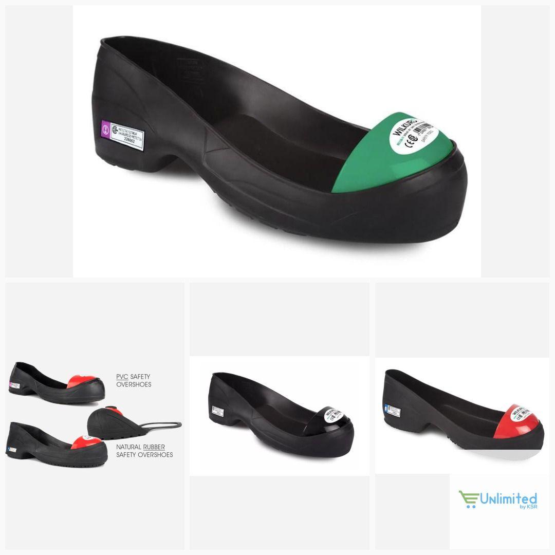 57c276bc836 Wilkuro Steel Toe Cap Safety Overshoe, 100% Natural Rubber , OSHA ...