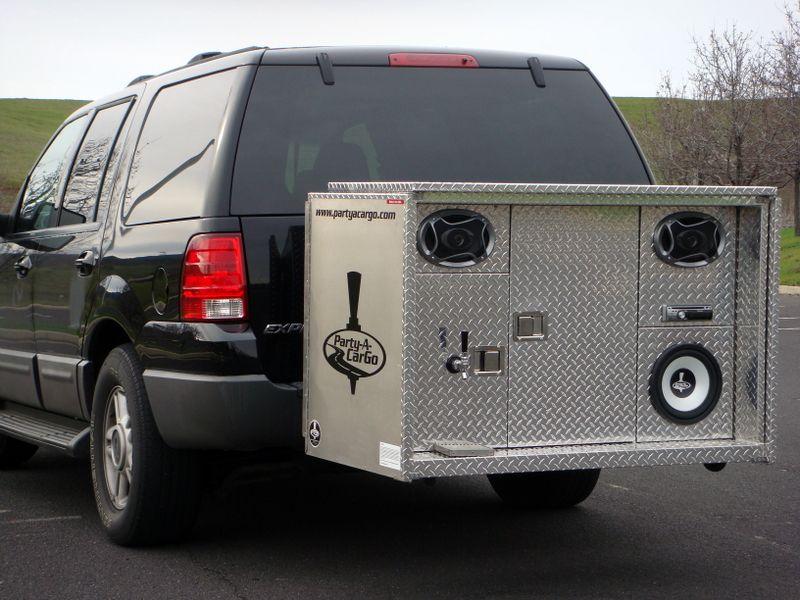 tow hitch kegerator. hook 'em. | jeep accessories | Pinterest ...