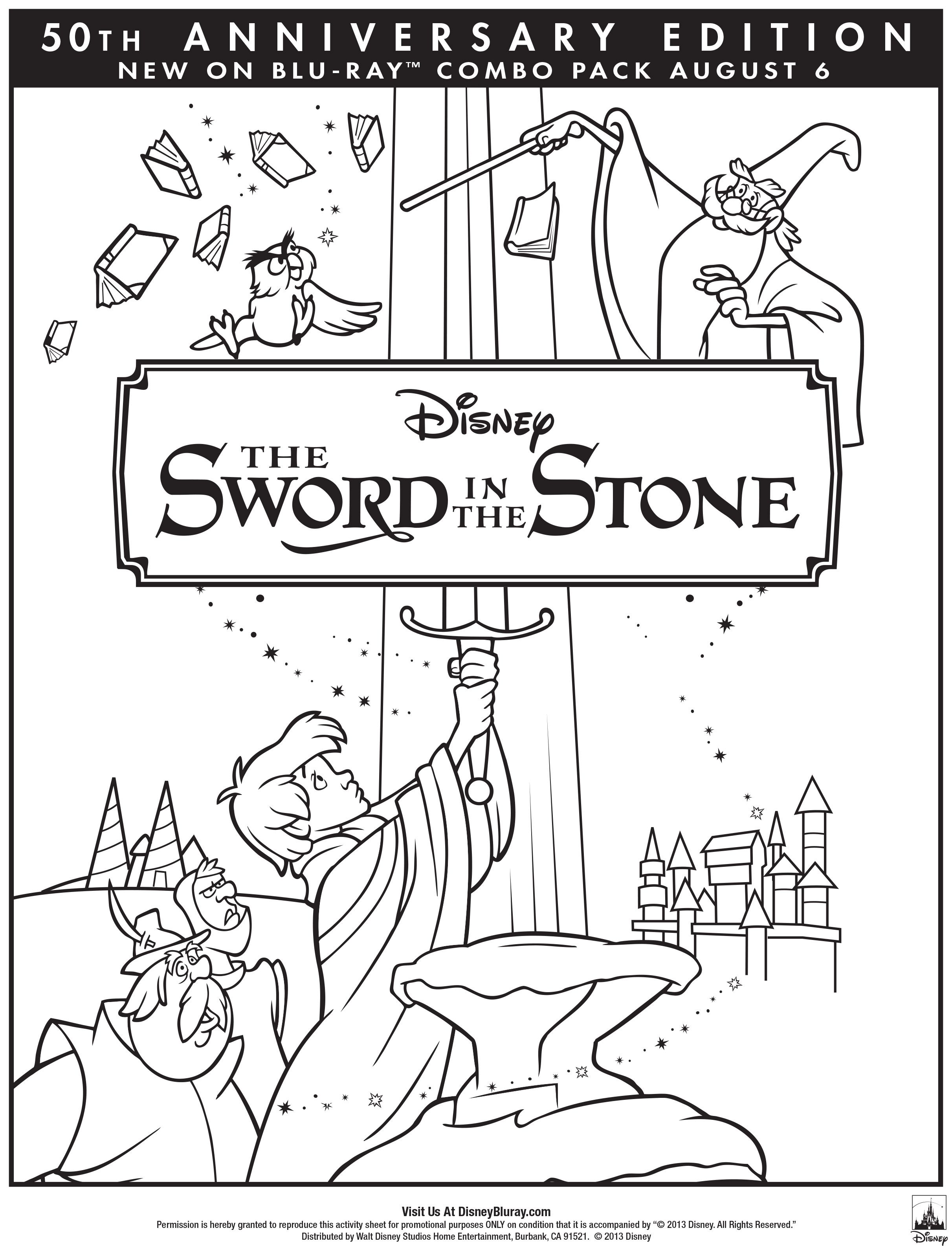 Get Your Family Ready For The Sword In The Stone 50th Anniversary