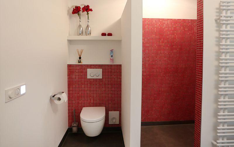 Badkamer Spiegelkast Rood : Rode badkamer google zoeken wonen pinterest