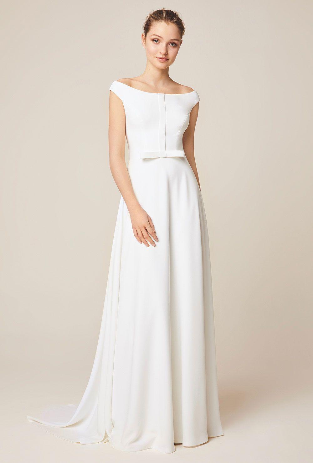 Jesus Peiro 947 Wedding Dress Miss Bush Bridal Boutique Surrey Simple Elegant Wedding Dress Wedding Dresses Unique Comfortable Wedding Dress