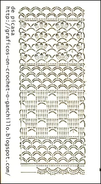 CROCHET - GANCHILLO - PATRONES - GRAFICOS: junio 2013