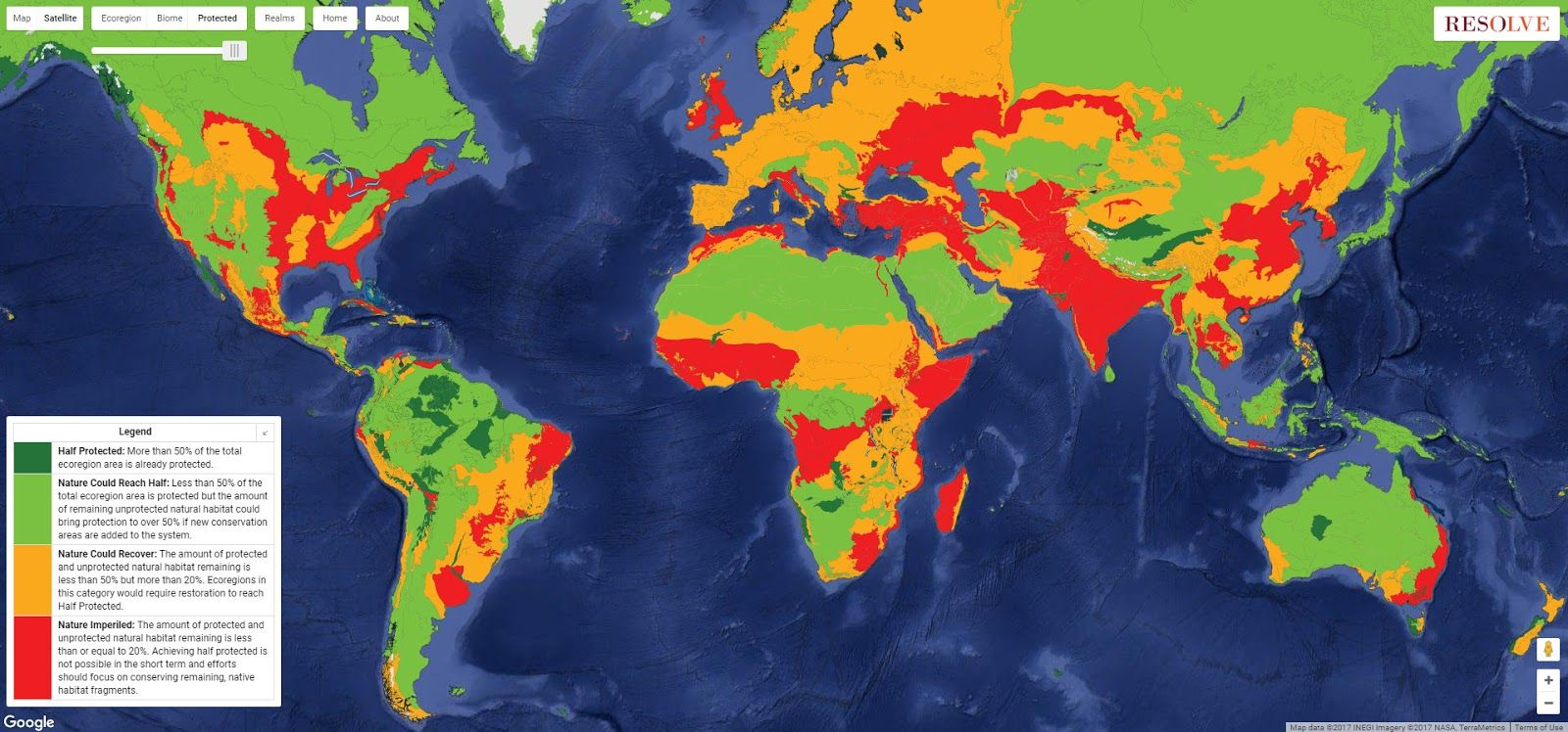 Map In Earth%0A Have you ever imagined what a map of the Earth would look like using  natural rather than political boundaries