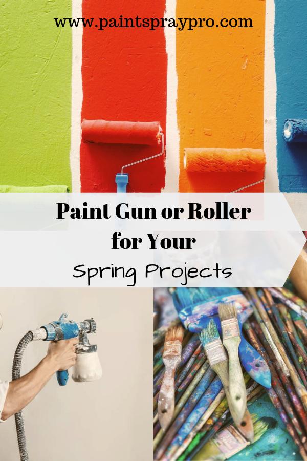 Paint Sprayers Vs Rollers Using A Paint Sprayer Best Paint